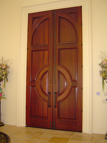Exterior doors custom wood steel madison wi for Wooden outside doors