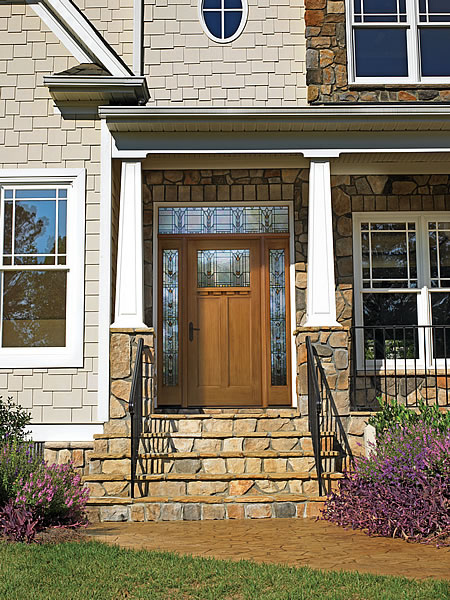 andersen wood exterior door with glass surround madison wi