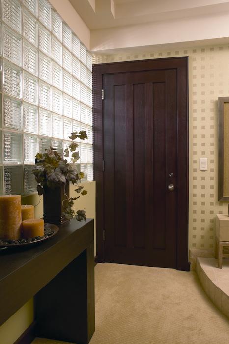 Dark Wood Interior Door Madion Wi