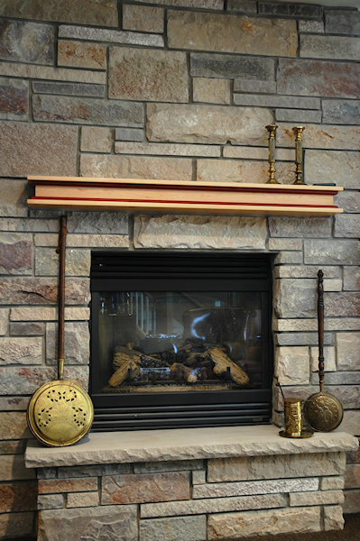 Fireplace Mantels | Custom | Wood | Millwork | Madison WI