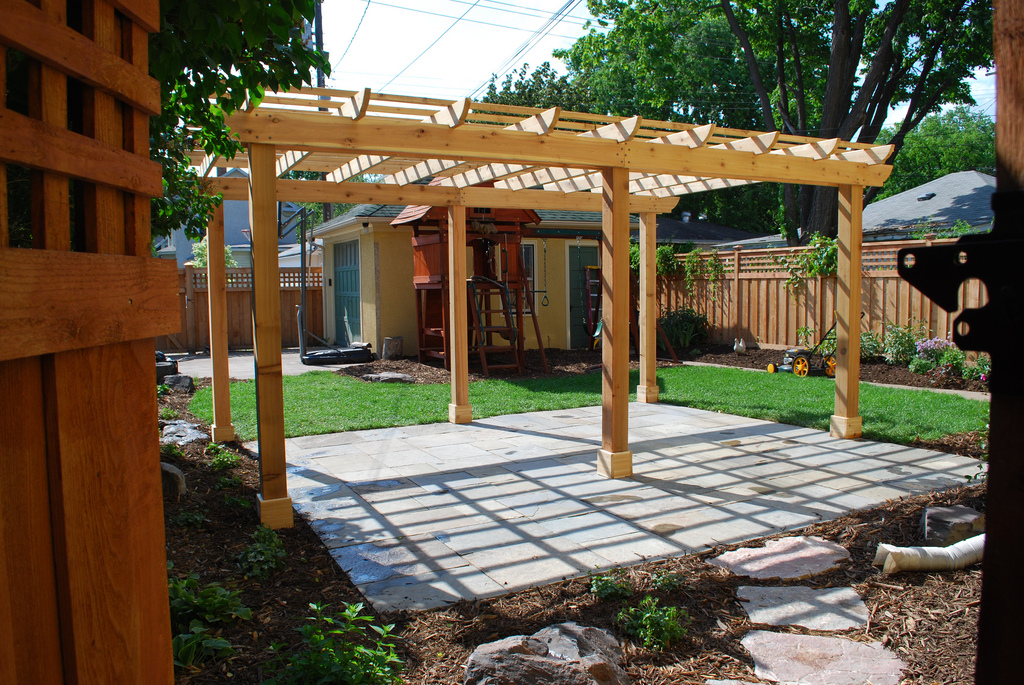 Define Your Outdoor Space With A Pergola Arbor Brunsell
