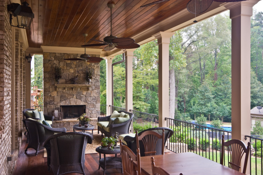 Create your outdoor living room brunsell for Creating an outdoor living space