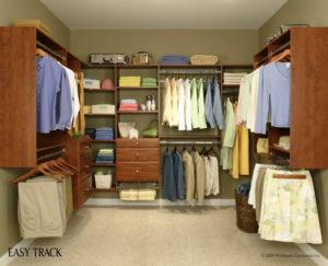 custom cherry closet system brunsell lumber