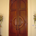 custom wood panel exterior door madison wi